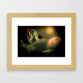 Space One Framed Art Print