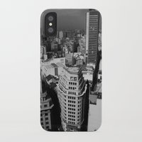 buildings iPhone & iPod Cases featuring Buildings by Roberta Vilas Boas