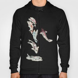Koi Fish Watercolour Hoody