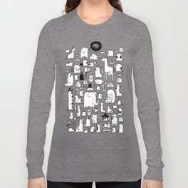 All the Beasts, Imagined and Real Long Sleeve T-shirt