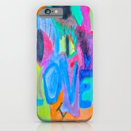 Summer Love | Painting by Elisavet iPhone Case