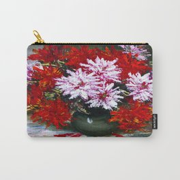 Holiday chrysanthemums Carry-All Pouch
