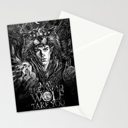 May The Dread Wolf Take You Stationery Cards