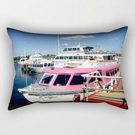 Think Pink! Rectangular Pillow