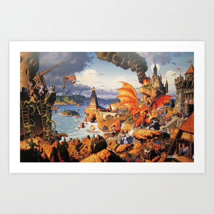 Ultima Online poster Kunstdrucke
