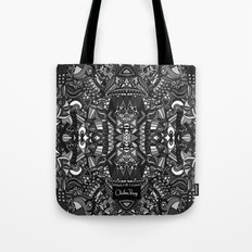 King of the City Black and White Tote Bag