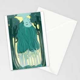 Tree Head Stationery Cards