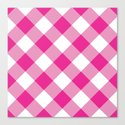 Gingham - Pink by dizanadesigns
