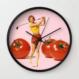 The Golfer Wall Clock