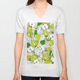 Vegetable pattern Unisex V-Neck