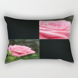 Pink Roses in Anzures 3 Blank Q2F0 Rectangular Pillow