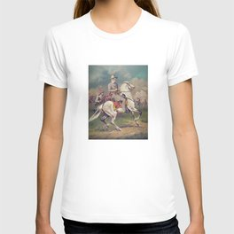 General Robert E. Lee on Horseback T-shirt
