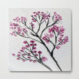 Pink Spring  Limb Metal Print