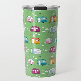 Happy Campers version 2 Travel Mug