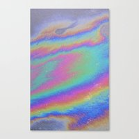 holographic Canvas Prints featuring Holographic by Nestor2
