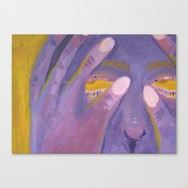 hide quickly! Canvas Print