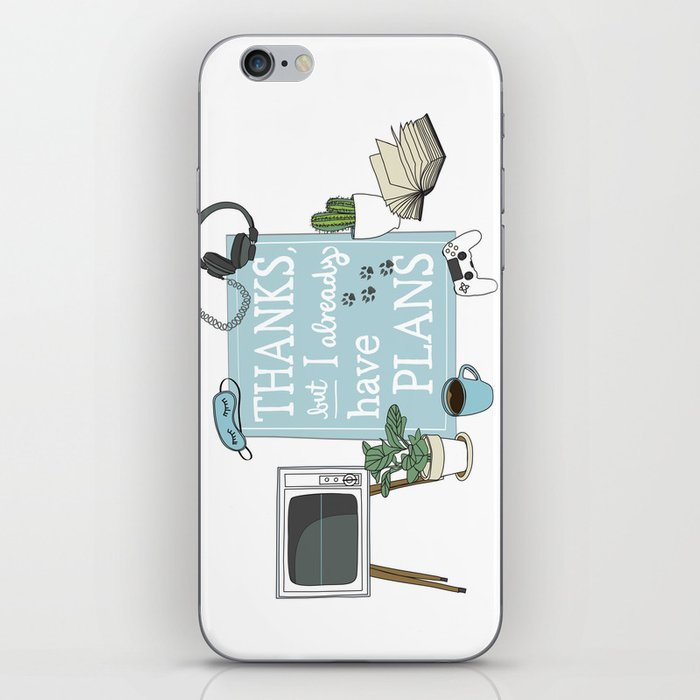 Introverts Paradise iPhone Skin