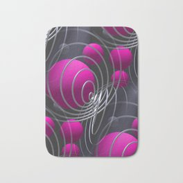 3D - abstraction -117- Bath Mat