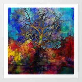 Brandywine Tree Art Print