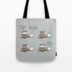 An exorcist Tote Bag