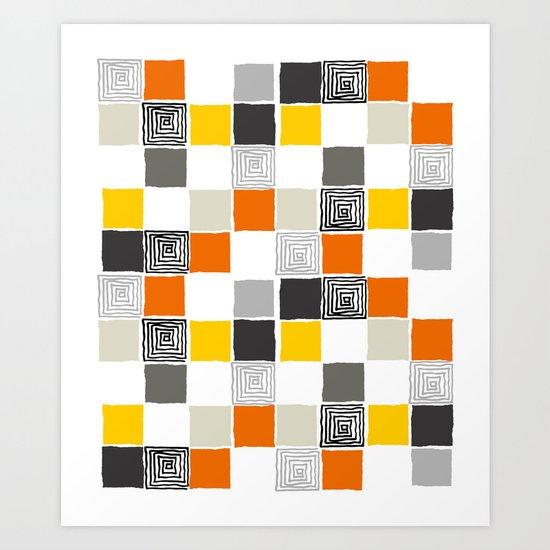 pattern 43 Art Print
