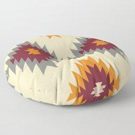 Aztec Southwestern pattern Navajo ornament Tribal Native American print Floor Pillow