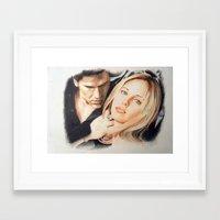 buffy the vampire slayer Framed Art Prints featuring Buffy - The Vampire Slayer by ChiaraG27
