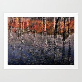 Seasons Abstract Art Print