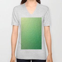 Green flakes Unisex V-Neck