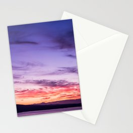 Auckland Sunset Stationery Cards