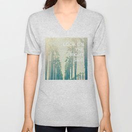 Look on the Bright Side Unisex V-Neck