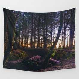 Wooded Tofino Wall Tapestry