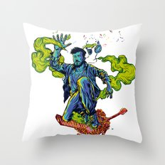 Music makes me lose control  Throw Pillow