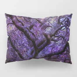 Mystic Tree of Knowledge Purple Pillow Sham