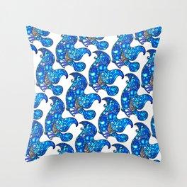 RightO (Blue) Throw Pillow