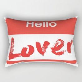 Hello Lover Rectangular Pillow