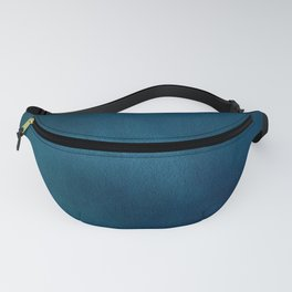 Blue-Gray Velvet Fanny Pack
