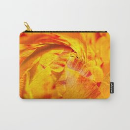 ranunculus red/orange Carry-All Pouch