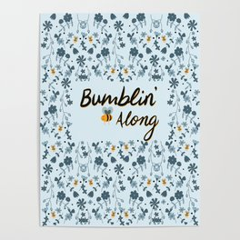 Bumbling and Busy Poster