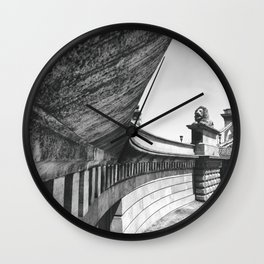 Budapest Chain and Bridge St. Stephen's Basilica Wall Clock