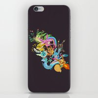 eevee iPhone & iPod Skins featuring Eevee Band by tinysnails