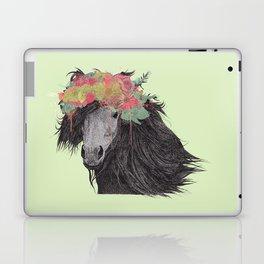 Shetland Pony (Pastel Green Edition) Laptop & iPad Skin