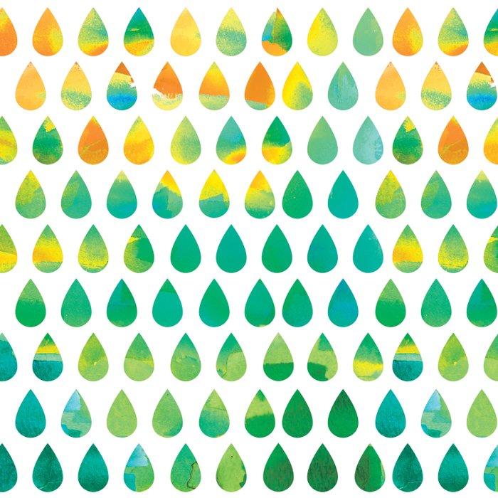Monsoon Rain Duvet Cover