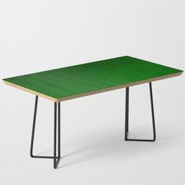 Emerald Green Ombre Design Coffee Table