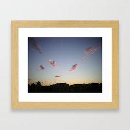 Roman Sunset Framed Art Print