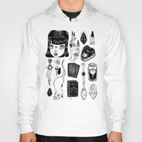 loll3 Hoodies featuring teen Witch by lOll3