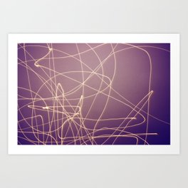 Make Light Art Print