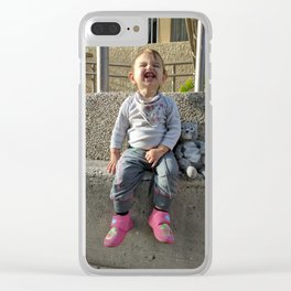 Kid and Friend Clear iPhone Case