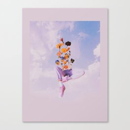 Dreamers in the clouds Canvas Print