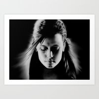 sin city Art Prints featuring Sin City by ClaM
